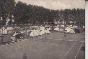 SPORT - TENNIS, Tennisplatz, Camping Platz, Lazise Lago di Garda, 1954