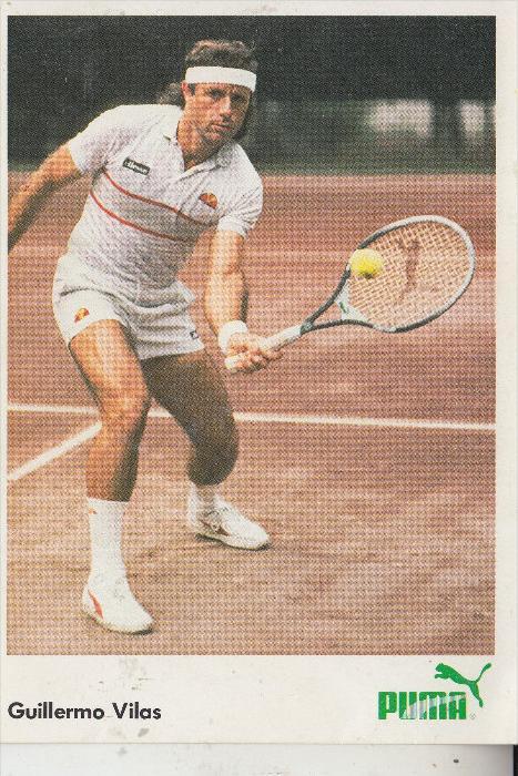 SPORT - TENNIS, Guillermo Vilas