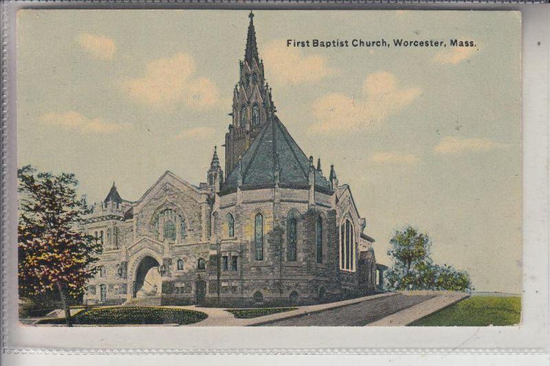 USA - MASSACHUSETTS - WORCESTER, First Baptist Church