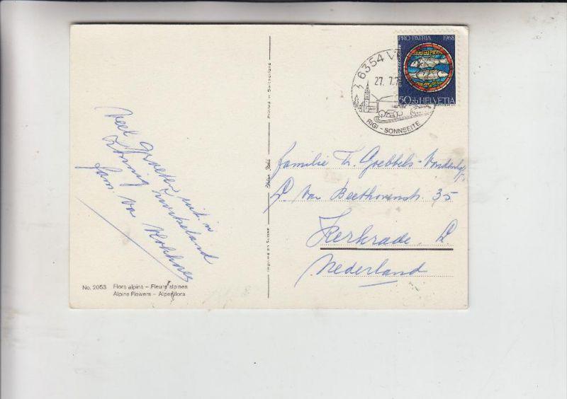 SCHWEIZ, 1968, Zumstein Pro Patria 141, Michel  877, Einzelfrankatur