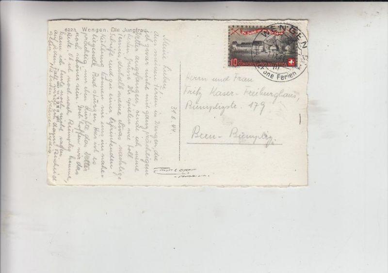 SCHWEIZ, 1944, Zumstein Pro Patria 23, Michel  432, Einzelfrankatur
