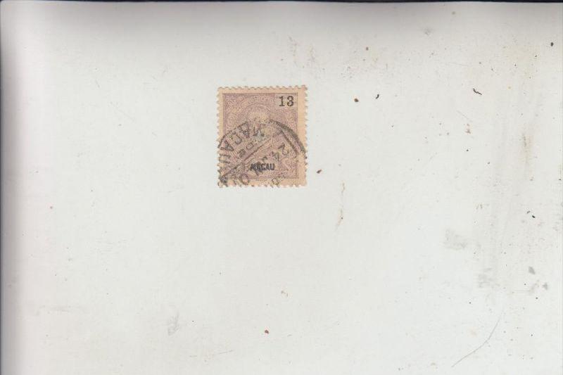 MACAO / MACAU, 1898, Michel 88