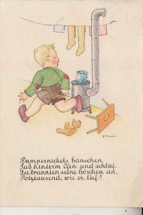 KINDER - Künstler-Karte G.Scheuller
