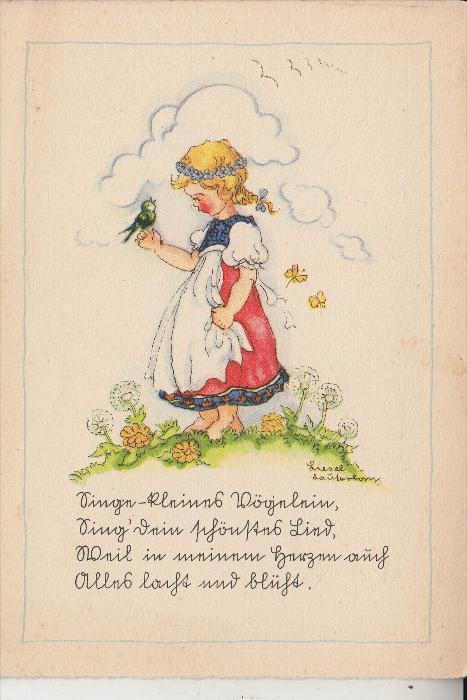 KINDER - Künstler-Karte Liesel Lauterborn