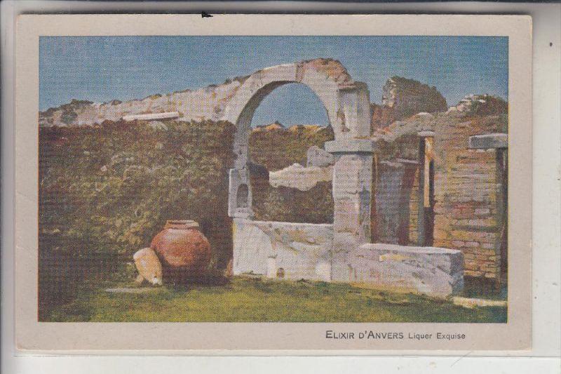 I 80045 POMPEI, Pompeji, Miethe - Aufnahme, ca. 1905, Elixir D'Anvers