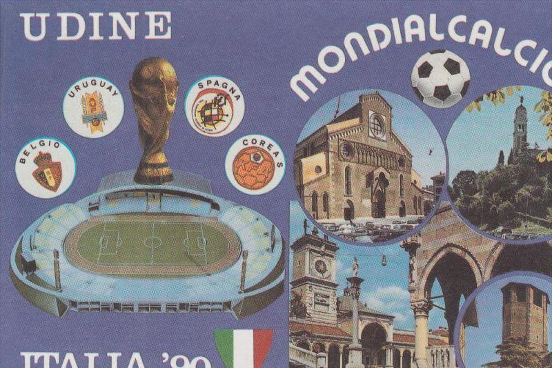 SPORT - FUSSBALL - WM 1990, Udine