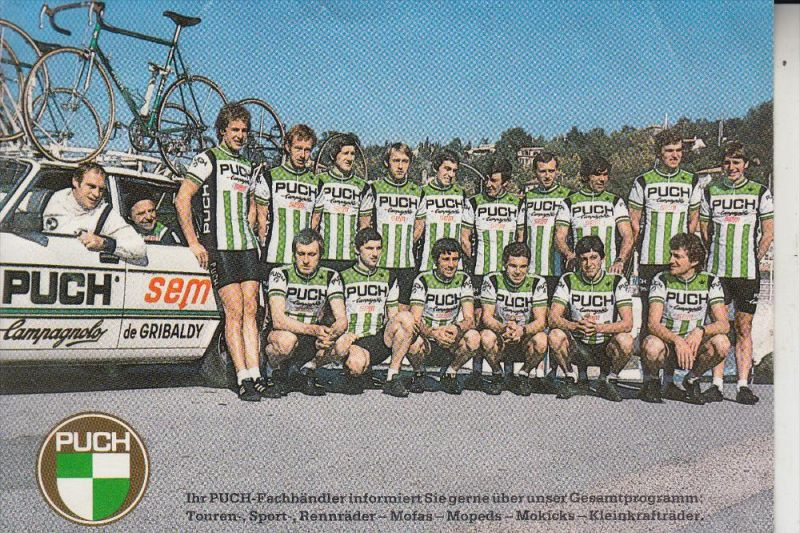 SPORT - RADSPORT / Cyclisme -PUCH-Team, Altig / Thurau