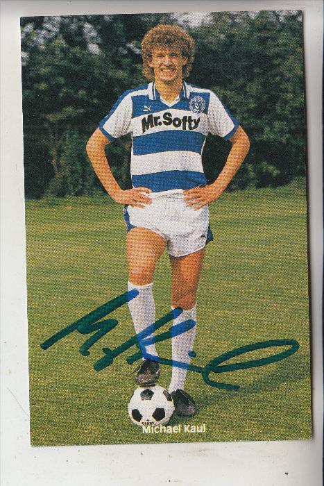 SPORT - FUSSBALL - MSV DUISBURG - MICHAEL KAUL, Autogramm