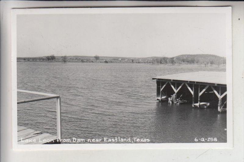 USA - TEXAS - EASTLAND, Lake Leon from Dam