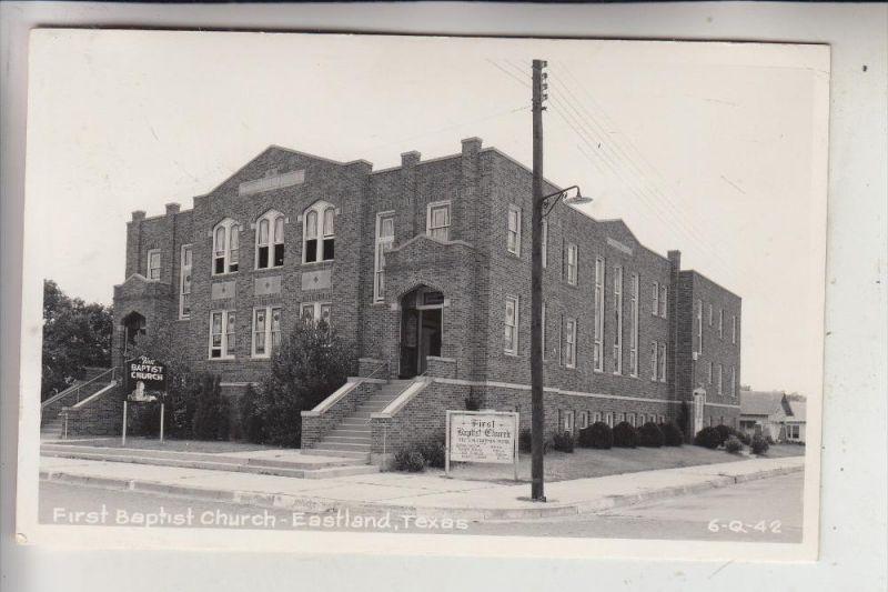 USA - TEXAS - EASTLAND, First Baptist Church