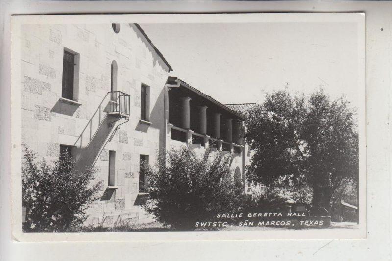 USA - TEXAS - SAN MARCOS - Sallie Beretta Hall
