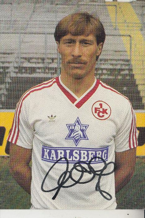 SPORT - FUSSBALL - 1.FC KAISERSLAUTERN - WOLFGANG ROLF, Autogramm