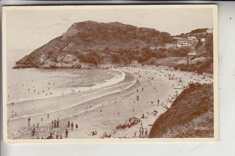 UK - WALES - GLAMORGAN - Caswell Bay, 1952