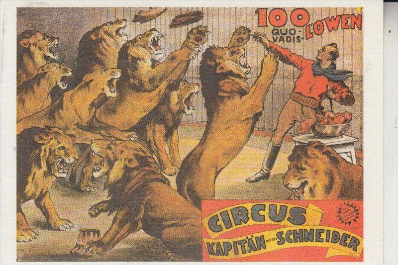 ZIRCUS - CIRCUS, -.Circus Kapitän Schneider, Repro
