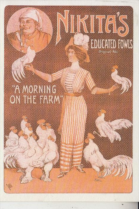 ZIRCUS - CIRCUS, -.Nikita's educated Fowls, Repro