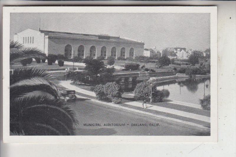 USA - CALIFORNIA - OAKLAND, Municipal Auditorium