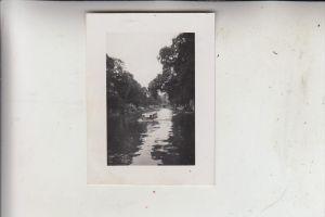 NL - NOORD-HOLLAND - AMSTERDAM, Kleinphoto 6 x 8 cm, 1951, Gracht