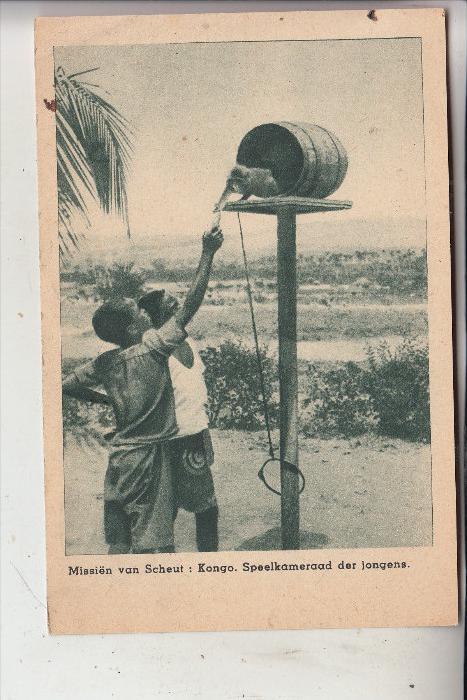 CONGO - Kinder / Affe - Children