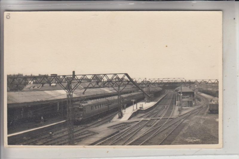 unbekannt - unknown - Bahnhof / Station  / La Gare - England ??, Photo-AK