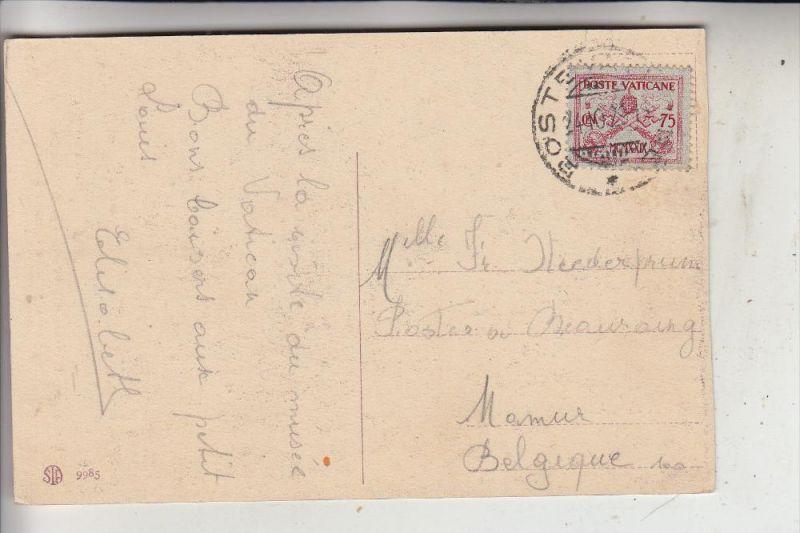 VATICAN - 1929, Michel 7, Einzelfrankatur nach Belgien