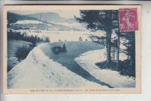 SPORT - WINTERSPORT - BOB-SCHLITTEN, Villard-de-Lans, 1936