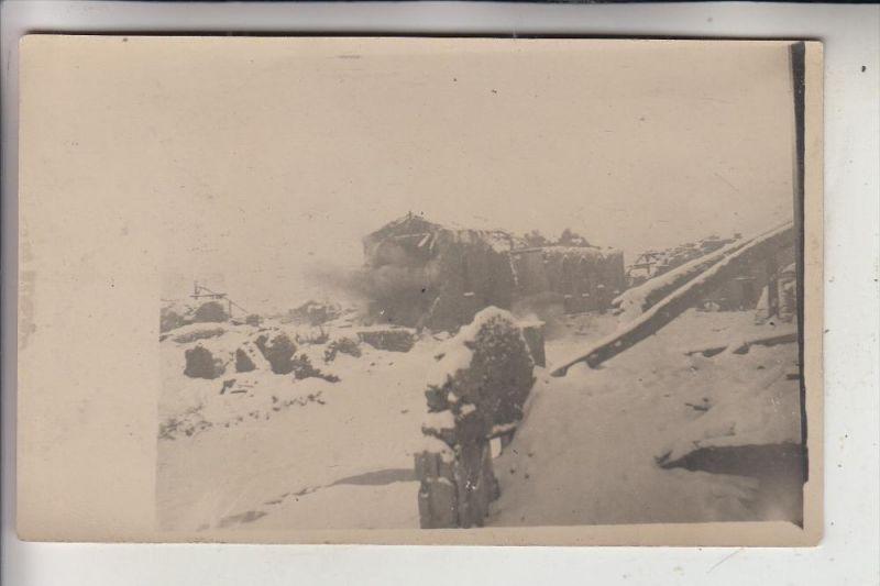 MILITÄR - 1.Weltkrieg, Zerstörungen, Photo-AK
