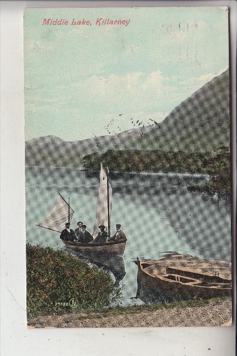 IRLAND - KERRY - KILLARNEY, Middle Lake, 1908
