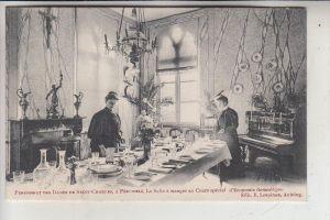 B 7600 PERUWELZ, Pensionnat des Dames de Saint-Charles, La salle a manger