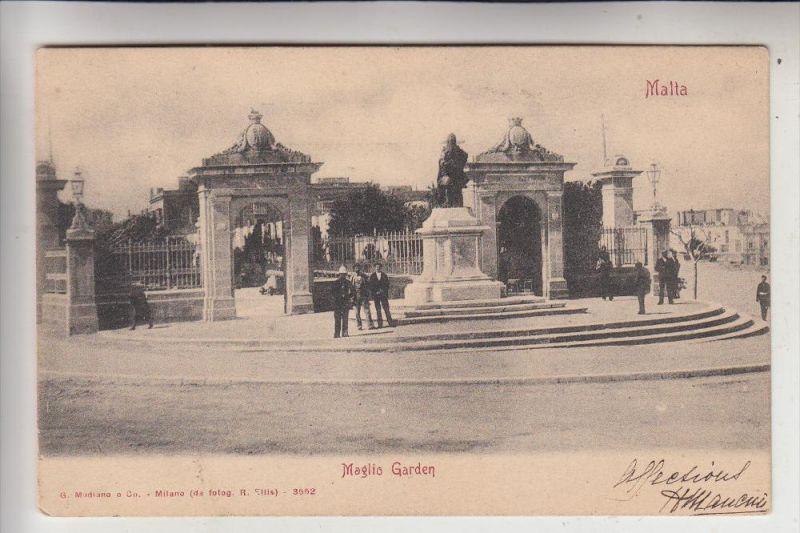 MALTA - Maglio Garden, 1904