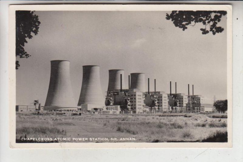 UK - SCOTLAND - DUMFRIESSHIRE - CHAPELCROSS - Atomic Power Station, Atomkraftwerk
