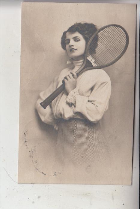 SPORt - TENNIS, Tennisspielerin, 1920
