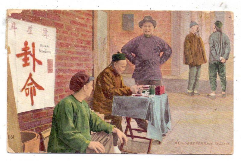USA - CALIFORNIA - SAN FRANCISCO, Chinese Fortune Teller, 1913, AF, stamp missing