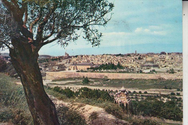 JORDANIEN / JORDAN, Jerusalem, Panorama, 196...