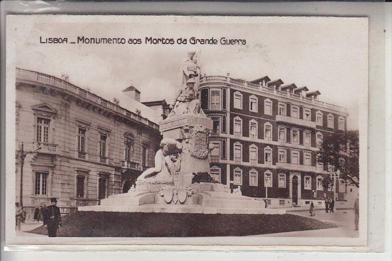P 1000 LISBOA / LISSABON, Monumento aos Mortos da Grande Guerra