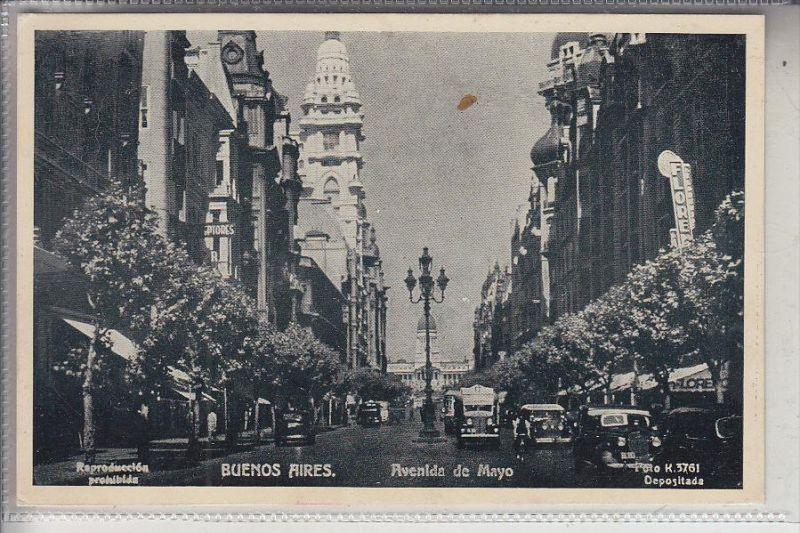 ARGENTINIEN - BUENOS AIRES - Avenida de Mayo, 1943