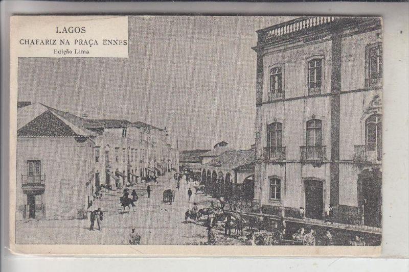 PERU - LAGOS, Chafariz na Praca Ennes
