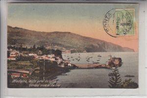 P 9000 FUNCHAL, Madeira, Vista geral du bahia, 1923