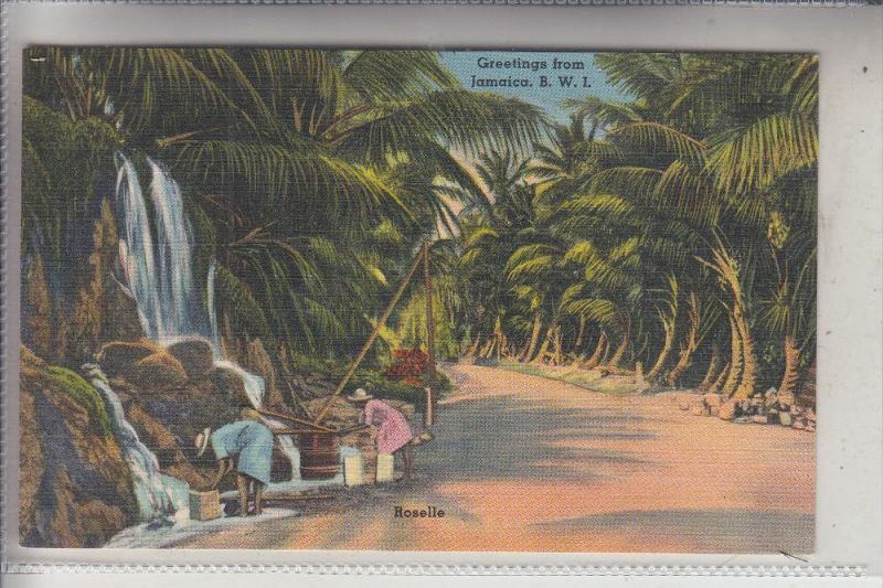 JAMAICA, Greetings from..., Rosellle