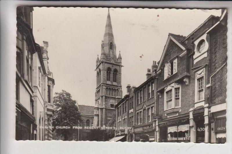 UK - ENGLAND - WARWICKSHIRE - RUGBY, Parish Church, Regent Street