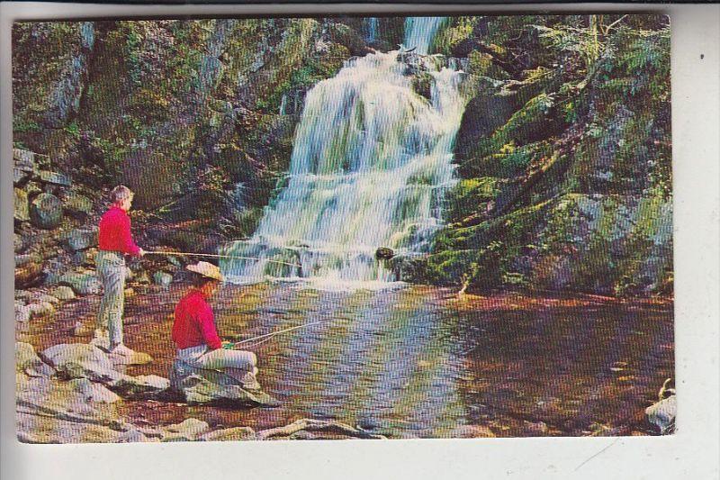 BERUFE - FISCHEN / ANGELN, Buttermilk Falls, New Jersey, USA