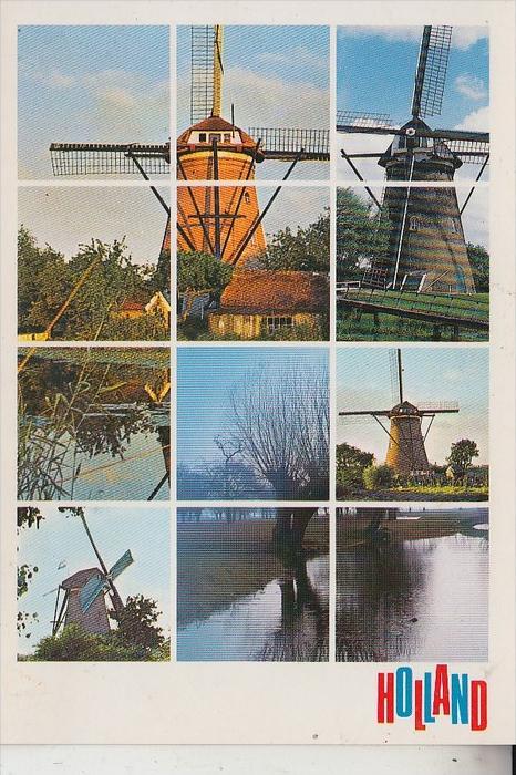MÜHLE - WINDMÜHLE / Molen / Mill / Moulin - Holland Molen