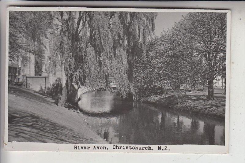 NZ - NEW ZEALAND / Neu Seeland - CHRISTCHURCH, River Avon