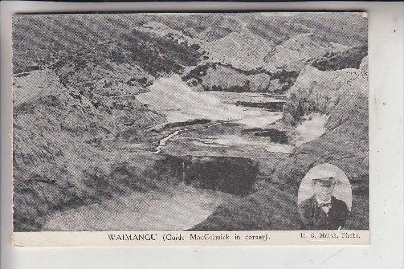 NZ - NEW ZEALAND / Neu Seeland - WAIMANGU, Guide MacCormick
