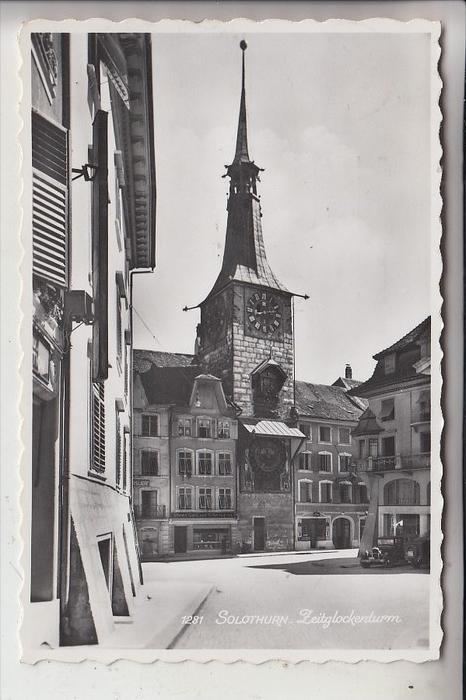 CH 4500 SOLOTHURN, Zeitglockenturm, 1954