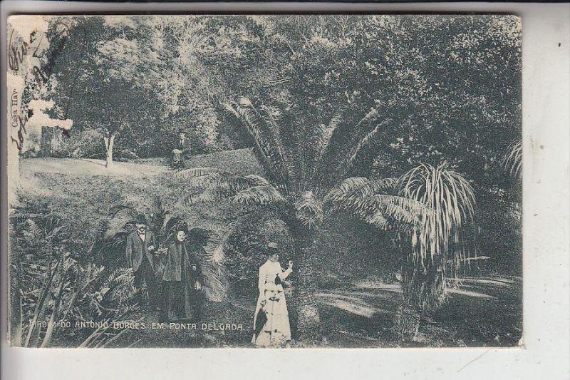 P 9500 PONTA DELGADA, Jardim do Antonio Borges, 1909