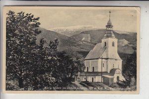 SCHLESIEN - NIEDERSCHLESIEN - MARIA SCHNEE / MIEDZYGORZE, Wallfahrtskirche