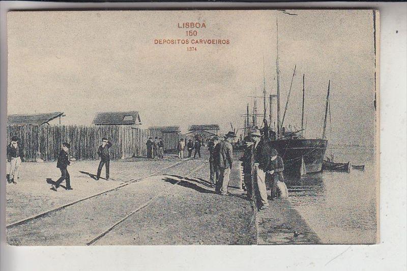 P 1000 LISBOA / LISSABON, Depositos Carvoeiros