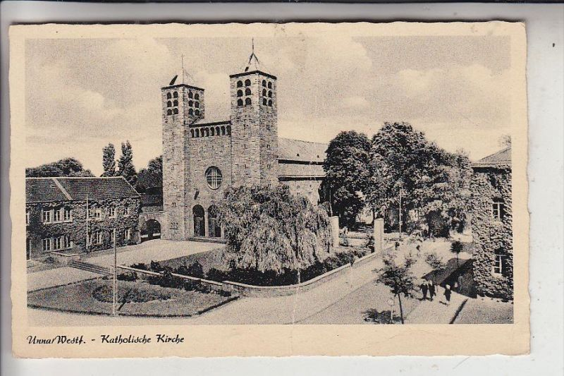4750 UNNA, Katholische Kirche, Druckstelle