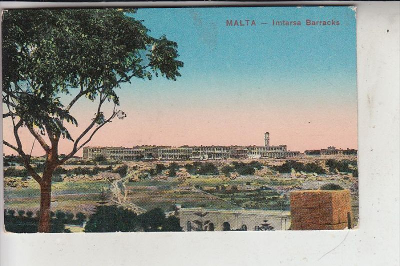 MALTA - Imtarsa Barracks, 1917