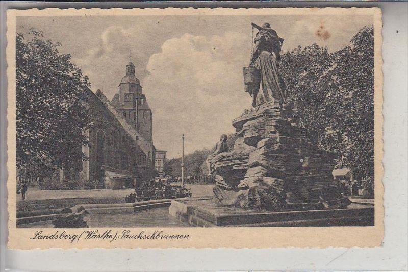 NEUMARK, LANDSBERG / Warthe, Paukschbrunnen, 1935
